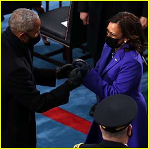 See What Barack Obama Told Kamala Harris at the Inauguration in This Now Viral Moment