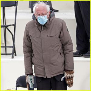 Bernie Sanders Goes Viral for His Inauguration Look