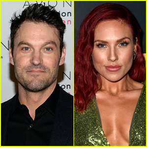 Brian Austin Green Spotted Kissing Sharna Burgess at Same Place He Married Megan Fox