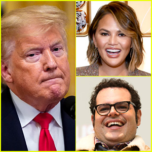Celebs React to Donald Trump Being Banned from Twitter
