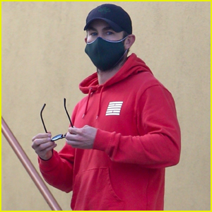 Chace Crawford Keeps a Low Profile While Out Picking Up Lunch