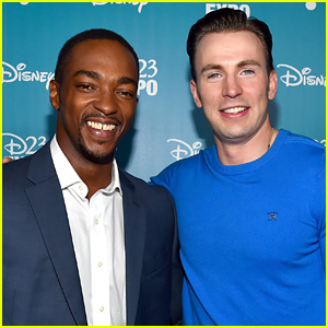 Anthony Mackie Picks the Better Ass Between His & Chris Evan's!
