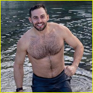 Olympian Chris Mazdzer Goes Shirtless for Dip in Freezing Cold Lake in Germany!