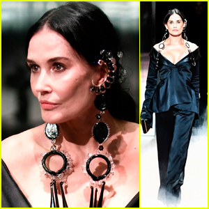 Demi Moore Hits the Runway at Fendi's Fashion Show 2021 in Paris