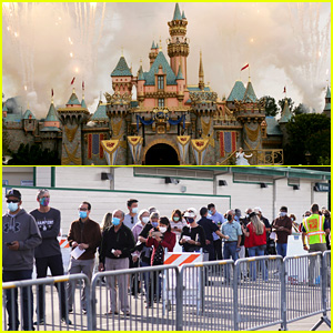 Disneyland Has Become a COVID-19 Vaccination Site & These Photos Reveal What It Looks Like!