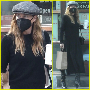 Ellen Pompeo Keeps Things Casual in All Black Outfit for Lunch Outing