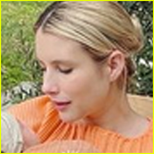 New Mom Emma Roberts Shows Off Newborn Baby Rhodes for the First Time!