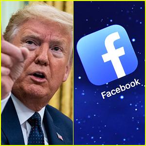 Facebook Bans Donald Trump From Platform & Instagram For 24 Hours