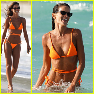 Model Izabel Goulart Flaunts Incredible Body at the Beach in St. Barts