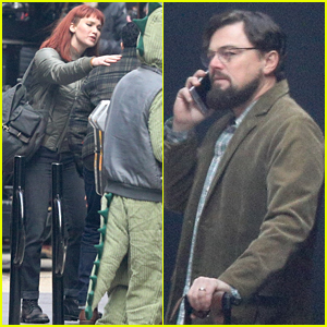Jennifer Lawrence & Leonardo DiCaprio Are Back on Set Filming 'Don't Look Up'
