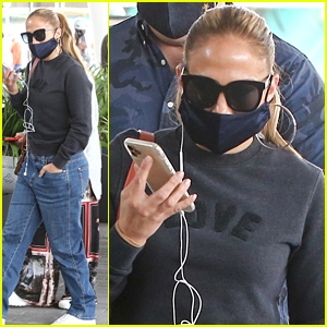 Jennifer Lopez Makes Surprise Stop at Sephora After Lunching With Friends