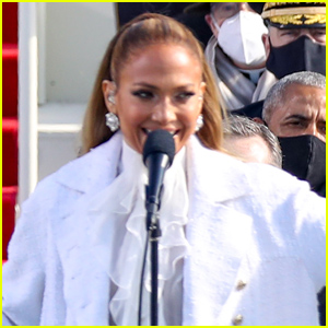 Watch Jennifer Lopez's Inauguration Performance (Where She Added a 'Let's Get Loud' Reference!)