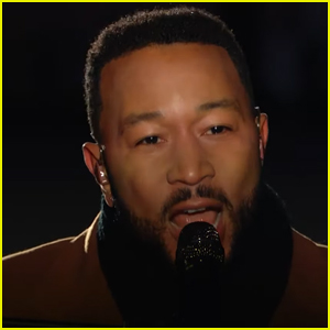 John Legend Gives Powerful Cover of 'Feeling Good' at 'Celebrating America' Event - Watch!