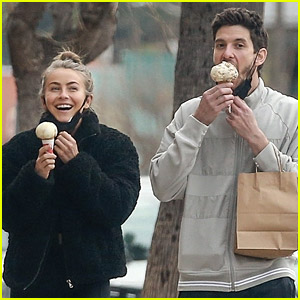 Julianne Hough & Ben Barnes Look So Cute Together During an Ice Cream Date!