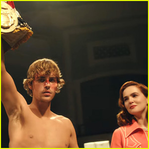 Justin Bieber Covers Tattoos for Rocky-Inspired 'Anyone' Video with Zoey Deutch!
