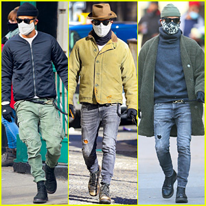See Justin Theroux's Latest Dog-Walking Photos & Check Out His Cool Street Style!