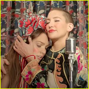 Kate Hudson & Maddie Ziegler Star In Vibrant Trailer For Sia's Upcoming Film 'Music'