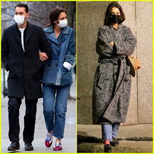 See This Week's New Katie Holmes Photos, Including Sightings with Boyfriend Emilio Vitolo Jr!