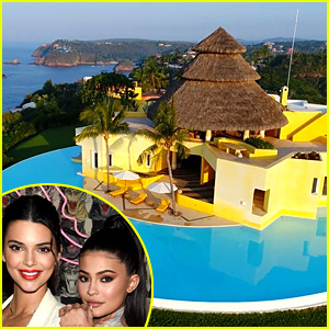 Look Inside the Villa Where Kylie & Kendall Jenner Stayed in Mexico This Week
