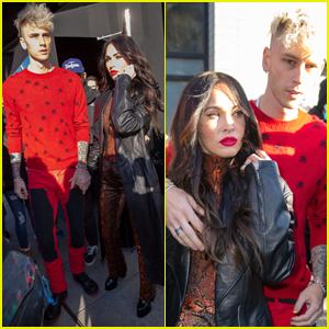 Megan Fox & Machine Gun Kelly Step Out in NYC After Shooting Down Engagement Rumors
