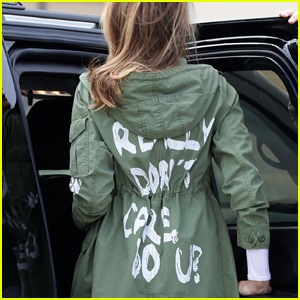 Melania Trump Says She Wanted to 'Drive Liberals Crazy' With 'I Really Don't Care' Jacket in Leaked Audio