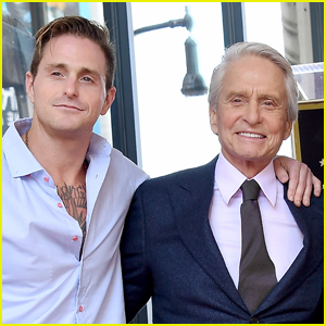 Michael Douglas Meets One-Month-Old Grandson Ryder for First Time!