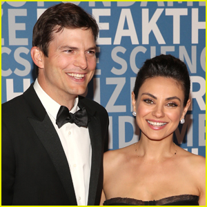 Mila Kunis Shares Hilarious Reason Why She & Ashton Kutcher Decided to Team Up for Super Bowl 2021 Commercial!