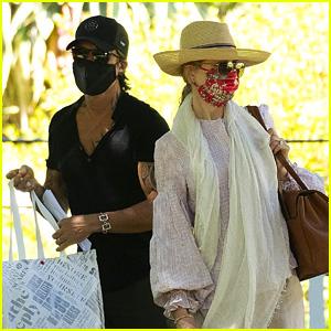 Nicole Kidman & Keith Urban Attend an Outdoor Music Event in Australia