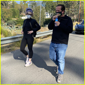 Kelly Osbourne & BFF Jeff Beacher Hike After Major Weight Loss - 340 Total Pounds!