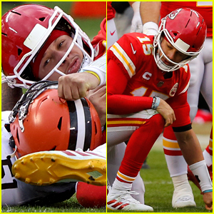 Chiefs Quarterback Patrick Mahomes Suffers Concussion After Brutal Hit In Playoff Game