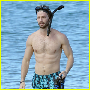 Patrick Schwarzenegger Shows Off His Buff Body at the Beach in Hawaii