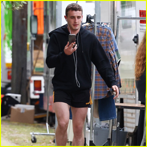 Paul Mescal Steps Out in Short Shorts on Set of His New Film 'Carmen'!