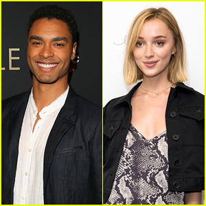 Rege-Jean Page Reacts To Rumors He's Dating 'Bridgerton' Co-Star Phoebe Dynevor