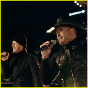 Tim McGraw & Tyler Hubbard Team Up for 'Undivided' Performance During 'Celebrating America' - Watch!