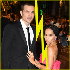 Zoe Kravitz Files for Divorce From Karl Glusman After Less Than Two Years of Marriage
