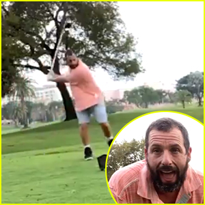 Adam Sandler & Christopher McDonald Celebrate 'Happy Gilmore's 25th Anniversary With Golf Challenge Videos
