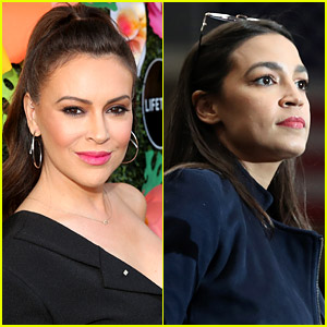 Alyssa Milano Is Being Called Out for Her Comment During AOC's Heart-Wrenching Instagram Live