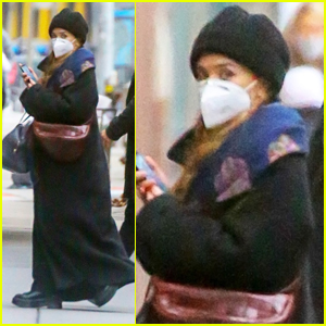 Ashley Olsen Stays Safe in Face Mask While Arriving at Her Office in NYC