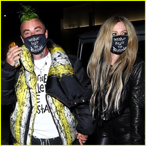 Avril Lavigne Holds Hands With Mod Sun at His Album Release Party!