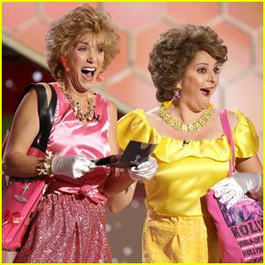 Kristen Wiig & Annie Mumolo Bring Barb & Star to Golden Globes 2021!