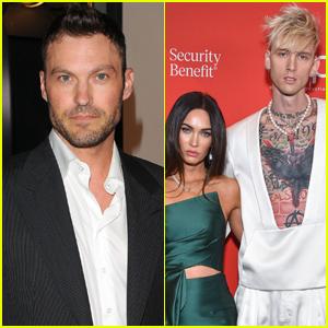 Brian Austin Green Reacts to Machine Gun Kelly Wearing Megan Fox's Blood in a Necklace