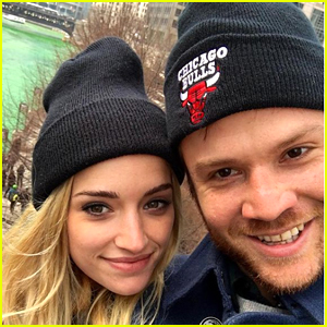 Ginny & Georgia's Brianne Howey Gets Support In The Cutest Way From Fiance Matt Ziering