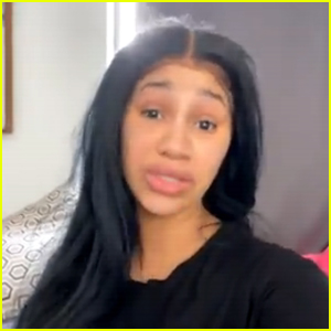 Cardi B Shares a Makeup-Free Message About Self-Acceptance: 'I'm Confident in My Own Skin
