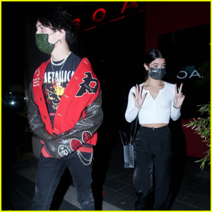 Charli D'Amelio & Chase Hudson Grab Dinner Together in West Hollywood
