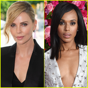 Charlize Theron & Kerry Washington to Star in Netflix's 'The School For Good & Evil'!