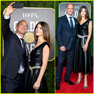 Christopher Meloni Brings Daughter Sophia To Golden Globes 2021