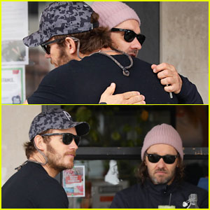 Chris Pratt Meets Up with Joel Edgerton for Breakfast Before Getting to Work on 'Thor 4'