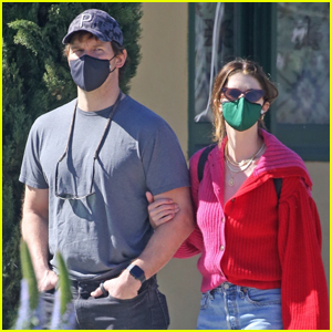 Chris Pratt Flies Back to L.A. to Spend Valentine's Day with Wife Katherine Schwarzenegger