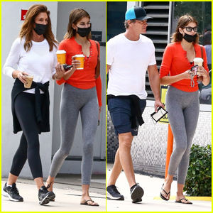 Cindy Crawford Steps Out on Her Birthday with Husband Rande Gerber & Daughter Kaia!