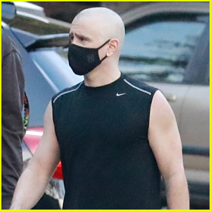 Colin Farrell Debuts Bald Head After Workout Session in LA!
